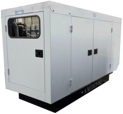 Дизельный генератор АМПЕРОС АД 20-Т230 P (Проф) в кожухе