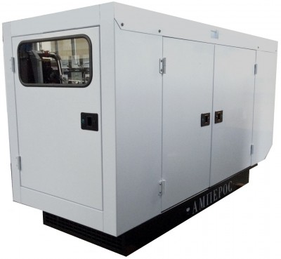 Дизельный генератор АМПЕРОС АД 15-Т400 в кожухе