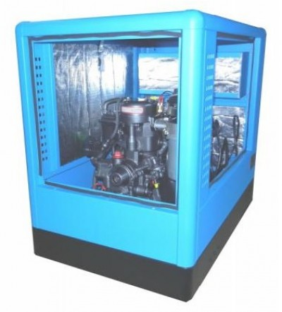 Дизельный генератор Вепрь АДА 15-230 ТЯ в кожухе