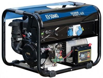 Бензиновый генератор SDMO TECHNIC 6500 E AVR M с АВР