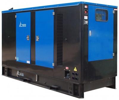Дизельный генератор ТСС АД-200С-Т400-1РМ11 в кожухе