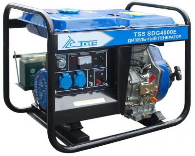 Дизельный генератор ТСС SDG 4000 E с АВР