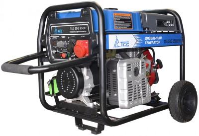 Дизельный генератор ТСС SDG 6500 EH3 с АВР