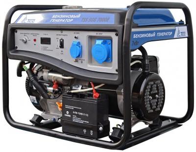 Бензиновый генератор ТСС SGG 7000E с АВР