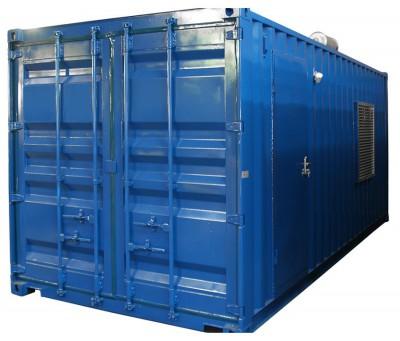 Дизельный генератор Energo ED 1370/400MTU в контейнере с АВР