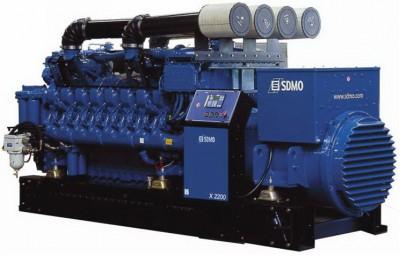 Дизельный генератор SDMO X2200C с АВР