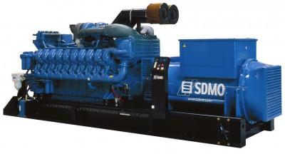 Дизельный генератор SDMO X3100C с АВР