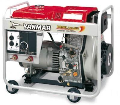 Сварочный генератор Yanmar YDW 190 N-5EB Электростартер